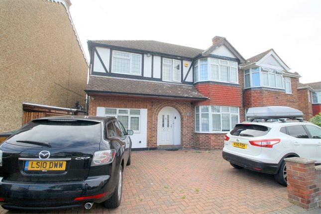 Thumbnail Semi-detached house for sale in Oaks Road, Staines-Upon-Thames, Surrey