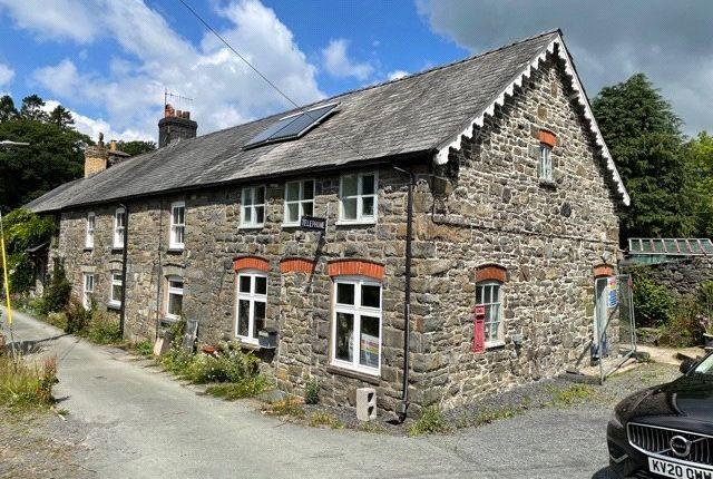 Thumbnail End terrace house for sale in Bont Dolgadfan, Llanbrynmair, Powys