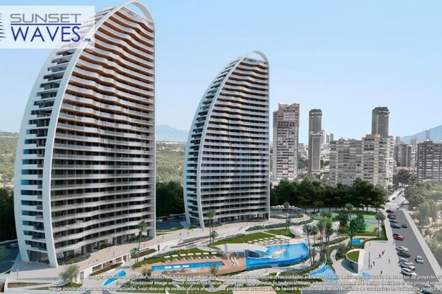 Thumbnail Apartment for sale in Sunset Waves, Benidorm, Alicante, Spain