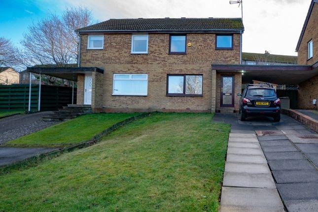 3 bedroom semi-detached house to rent in Hallcroft Park, Ratho, Edinburgh