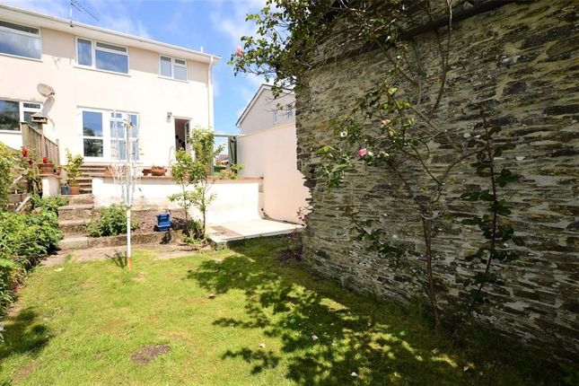 Thumbnail Semi-detached house for sale in Oaklands Park, Buckfastleigh, Devon