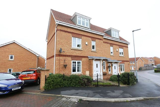 Thumbnail Semi-detached house for sale in The Wharf, Knottingley, West Yorkshire