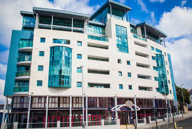 Thumbnail 1 bed flat to rent in The Crescent, City Centre, Plymouth