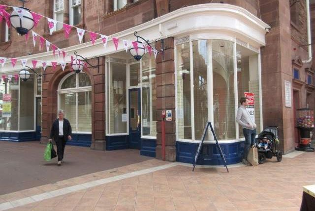 Thumbnail Retail premises to let in Scotch Street, Market Arcade, Unit 6, Carlisle