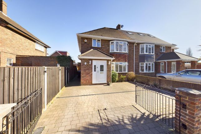 Thumbnail Semi-detached house for sale in Chertsey Road, Feltham, Greater London