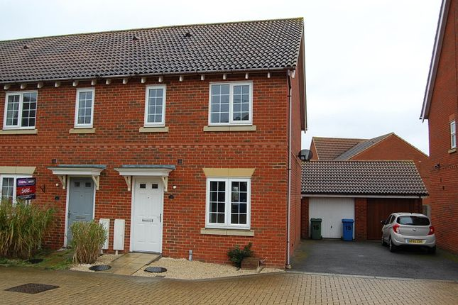 Thumbnail Semi-detached house to rent in Mallow Road, Minster On Sea, Sheerness, Kent