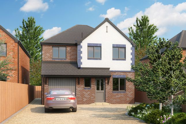 Thumbnail Detached house for sale in Coleshill Road, Marston Green, Birmingham