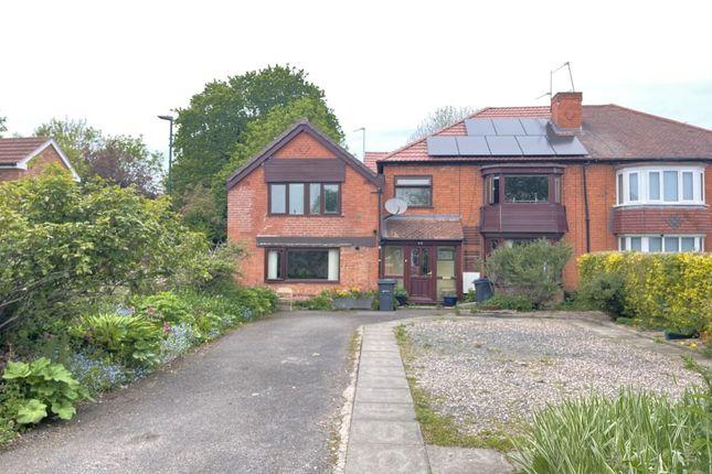 Thumbnail Semi-detached house for sale in Sedgemere Road, Birmingham