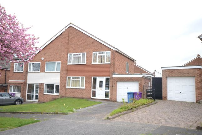 Thumbnail Semi-detached house for sale in Fieldfare Close, Gateacre, Liverpool