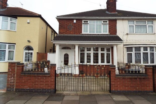 Thumbnail Semi-detached house to rent in Purley Road, Leicester