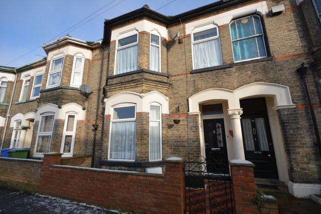 4 bed terraced house for sale in Regent Road, Lowestoft