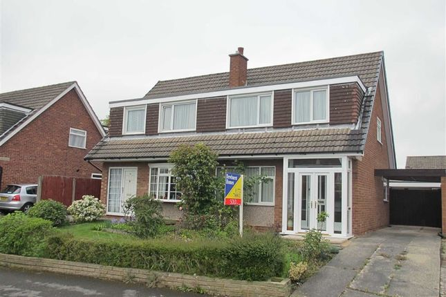 Thumbnail Semi-detached bungalow to rent in Compton Green, Fulwood, Preston
