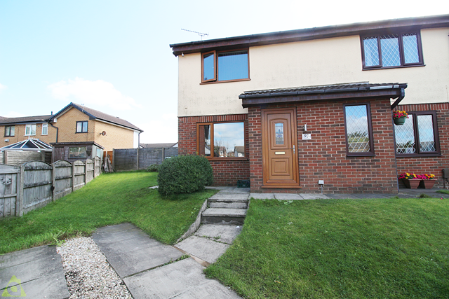 Front Aspect of Collingwood Way, Westhoughton, Bolton BL5
