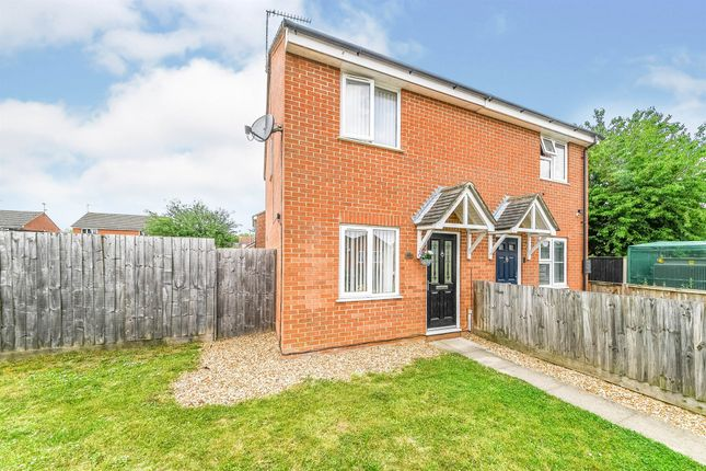Thumbnail End terrace house for sale in Alma Chase, Terrington St. Clement, King's Lynn