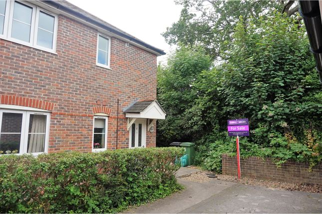 Thumbnail Flat for sale in Fernhurst Close, Colden Common, Winchester