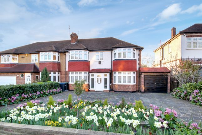 Thumbnail Semi-detached house for sale in Old Park Ridings, Winchmore Hill