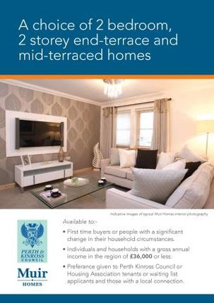 Thumbnail Flat to rent in Castleton Road, Auchterarder