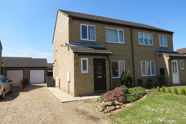 Thumbnail Semi-detached house to rent in Larch Way, Sleaford