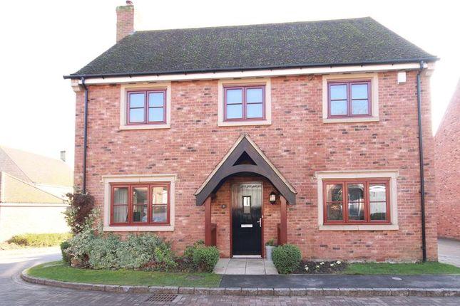 Thumbnail Detached house for sale in School Close, Westbury, Brackley