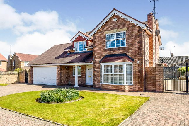 Thumbnail Detached house for sale in Marford Drive, Abergele, Conwy
