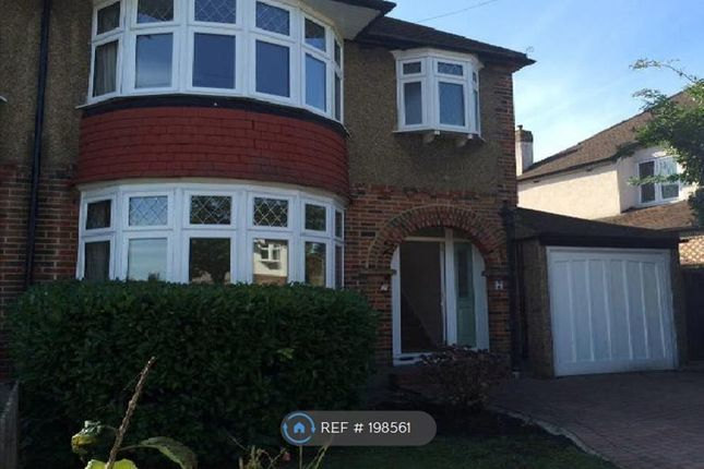 Thumbnail Semi-detached house to rent in The Hollands, Worcester Park