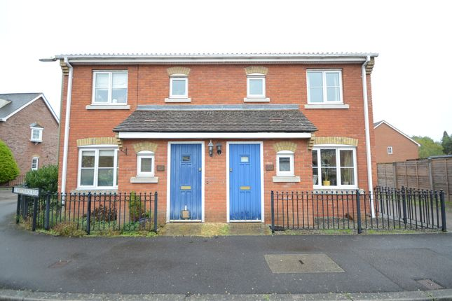 Thumbnail Semi-detached house to rent in Whitchurch Road, Fleet