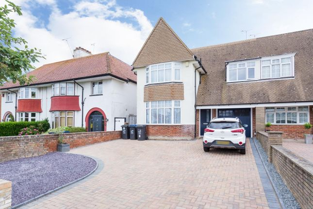 Thumbnail Semi-detached house for sale in Princes Gardens, Cliftonville, Margate