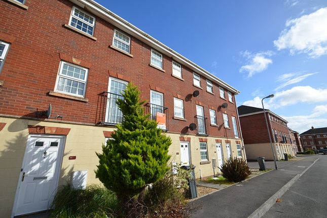 Thumbnail Town house for sale in Beaufort Square, Pengham Green, Cardiff