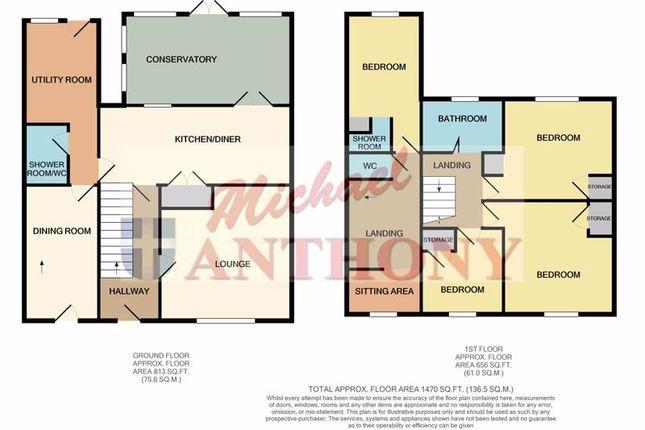 Floor Plan of Whaddon Way, Bletchley, Milton Keynes MK3