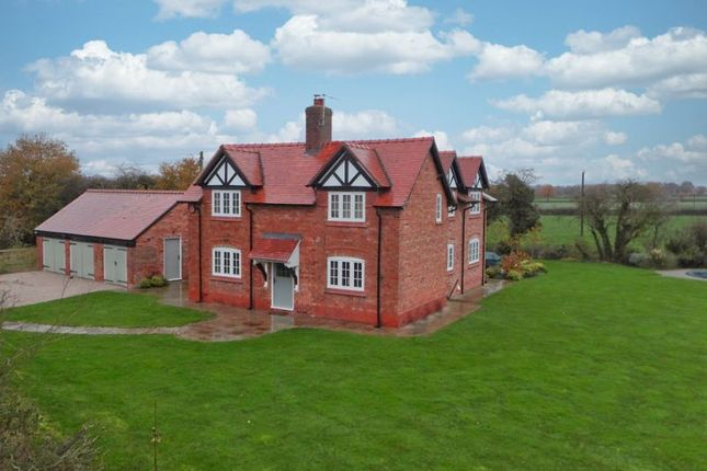 Thumbnail Detached house for sale in Nantwich Road, Chorley, Cheshire