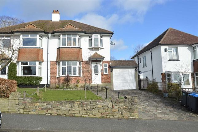 Thumbnail Semi-detached house to rent in Woodmansterne Road, Coulsdon, Surrey