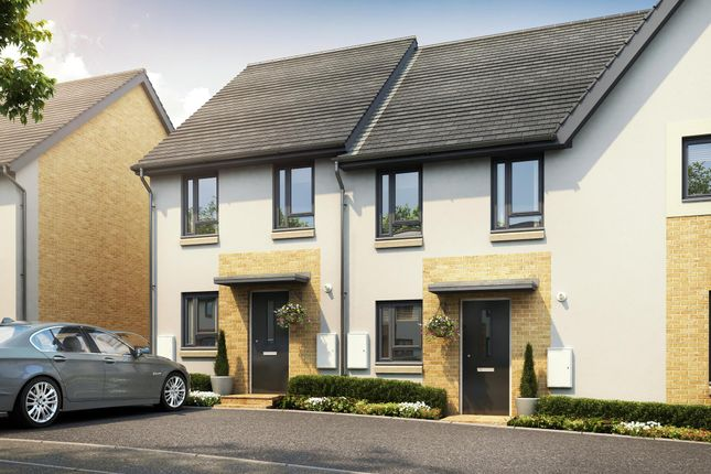 """Thumbnail End terrace house for sale in """"Tiverton"""" at Redwood Drive, Plympton, Plymouth"""