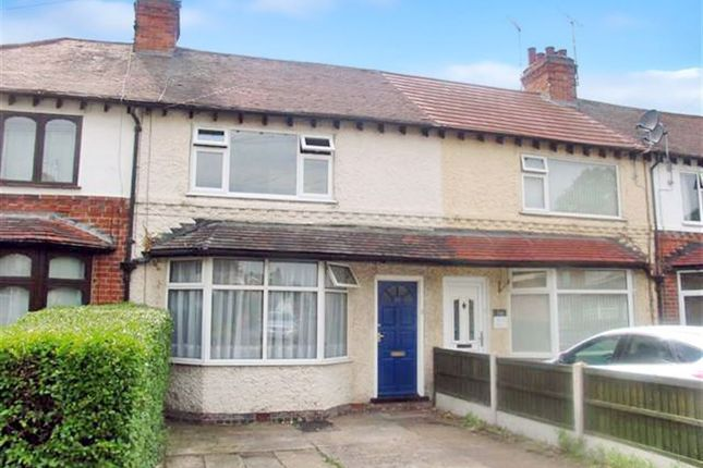 Thumbnail Terraced house to rent in Leslie Avenue, Beeston, Nottingham
