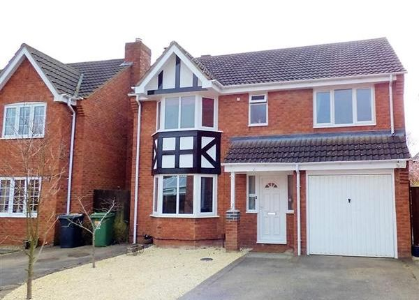 Thumbnail Detached house for sale in Pochard Close, Quedgeley, Gloucester
