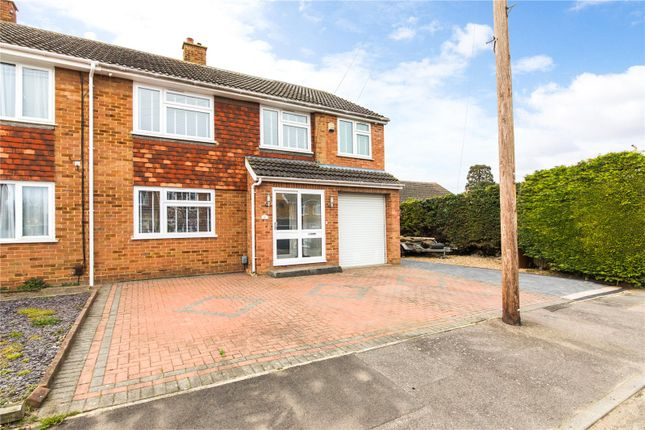 Thumbnail Semi-detached house for sale in Wivenhoe Close, Rainham, Kent