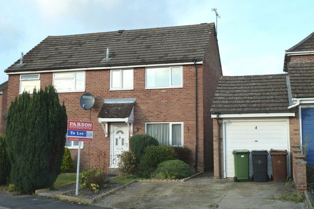 Thumbnail Semi-detached house to rent in Fisher Road, Diss, Norfolk