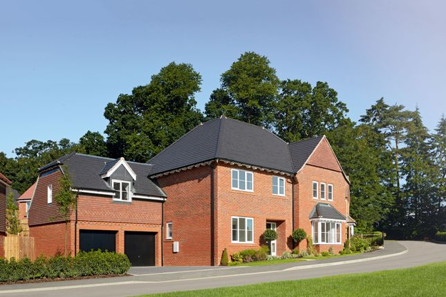 "Thumbnail Detached house for sale in ""The Highclere Sp"" at Tile Barn Row, Woolton Hill, Newbury"