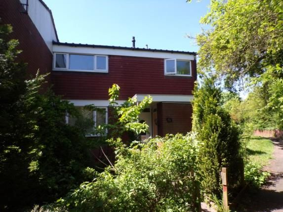 Thumbnail End terrace house for sale in Deans Close, Redditch, Worcestershire