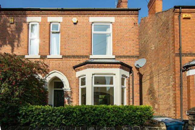 Thumbnail Semi-detached house to rent in Mona Road, West Bridgford, Nottingham