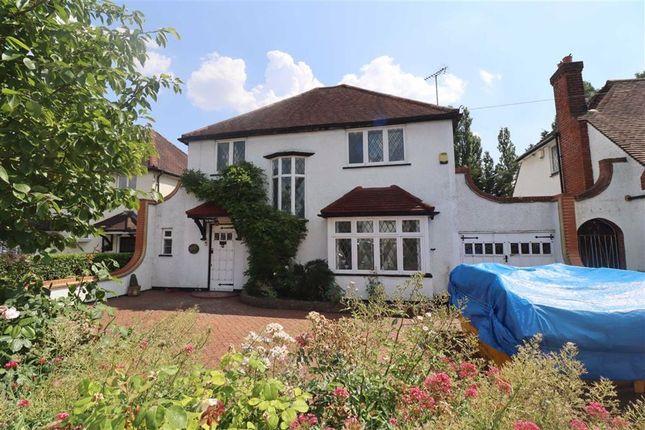 Thumbnail Detached house to rent in Pembroke Road, Ruislip Manor, Ruislip