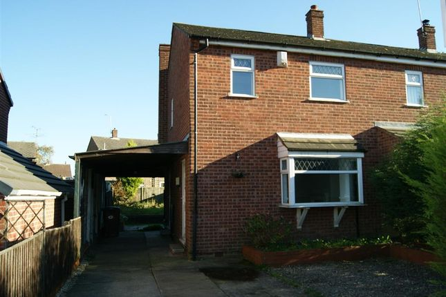 Thumbnail Semi-detached house to rent in Lymington Road, Mansfield