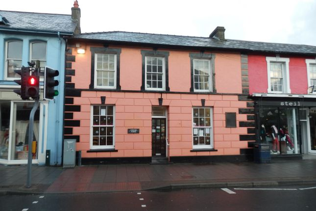 Thumbnail Restaurant/cafe for sale in Bridge Street, Aberaeron