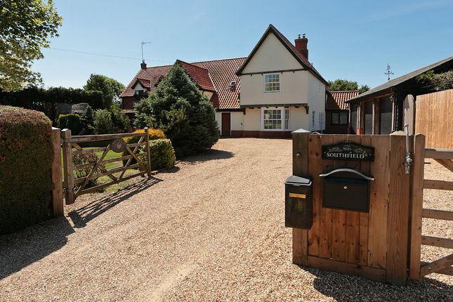 Thumbnail Detached house for sale in Pigeon Lane, Washbrook, Ipswich, Suffolk