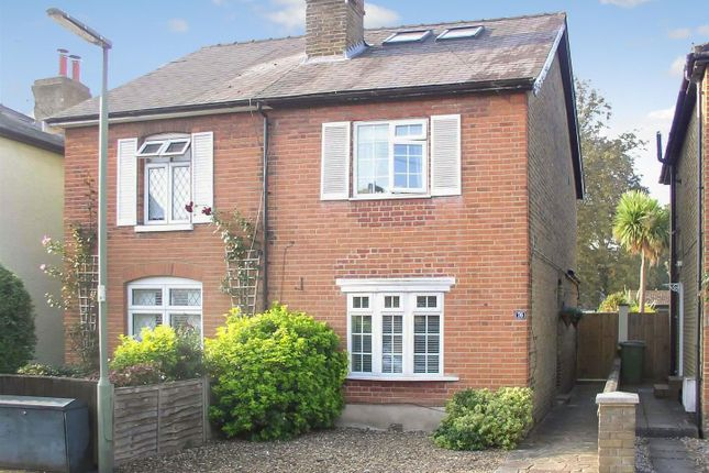 Semi-detached house for sale in Albany Road, Hersham, Walton-On-Thames