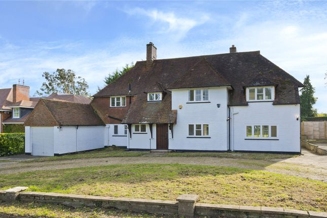 Thumbnail Detached house for sale in Claremont Park Road, Esher, Surrey