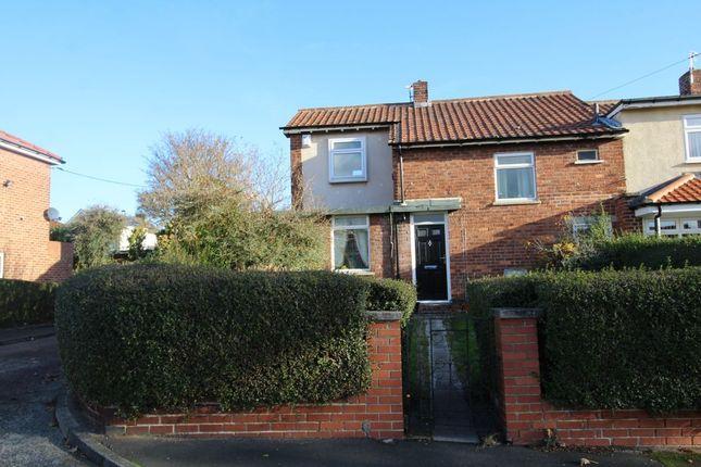 Thumbnail Terraced house for sale in Keswick Grove, Slatyford, Newcastle Upon Tyne