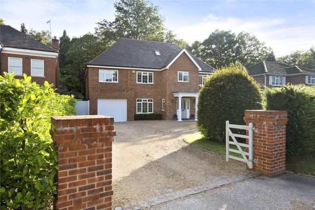 Thumbnail Detached house for sale in Woodside Road, Cobham, Surrey