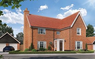 Thumbnail Detached house for sale in Butterfield Meadow, Hunstanston, Norfolk