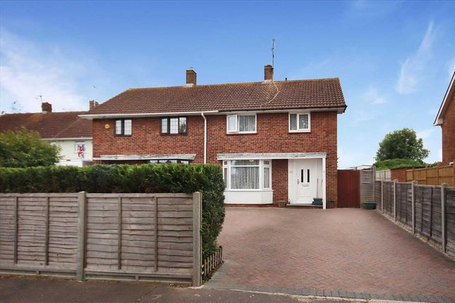 Thumbnail Semi-detached house for sale in Melbourne Avenue, Goring-By-Sea, Worthing