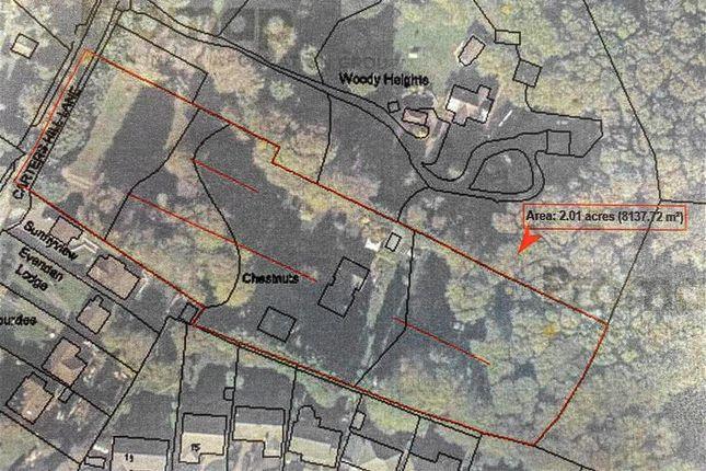 Plot Size of Carters Hill Lane, Culverstone, Meopham, Kent DA13